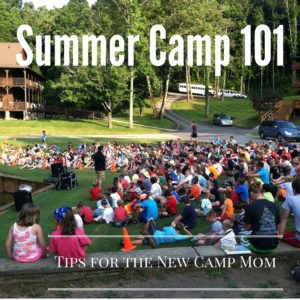 Sending your Kid off to Camp 101